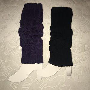 Accessories - NEW 2 Pair Leg Warmers